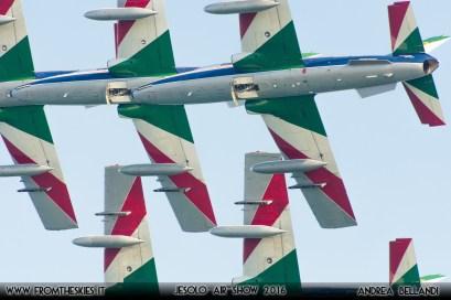 Frecce Tricolori - Aeronautica Militare - Jesolo Air Show 2016 (5)