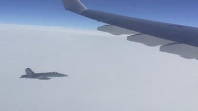 Photo of F-18 svizzeri intercettano un aereo governativo russo