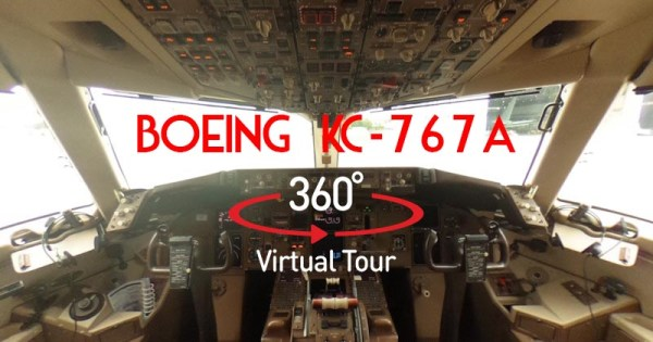 Boeing KC-767A Tour Virtuale 360°