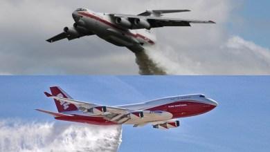 Photo of Il Cile brucia, arrivano il 747 Supertanker e l'Ilyushin Il-76TD
