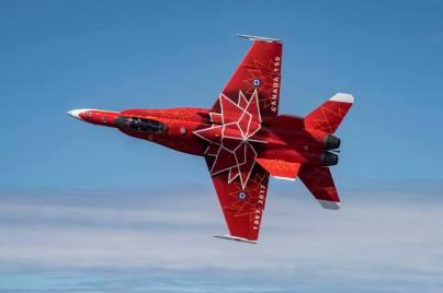 RCAF CF18 Demo Team - Special Color - 2