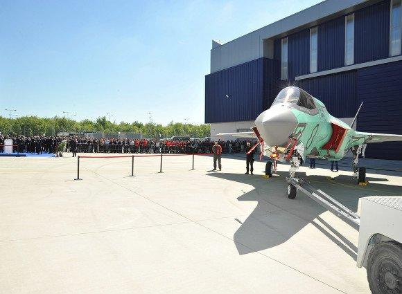 F-35B - FACO Cameri 5