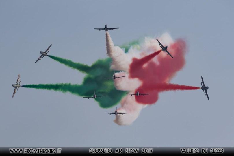 Grosseto Air Show 2017 - Frecce Tricolori 'Scintilla'