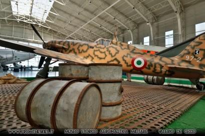 MACCHI MC 205 - Museo Storico Aeronautica Militare (3)