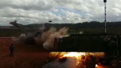 Photo of Elicottero russo Kamov KA-52 lancia dei razzi per errore