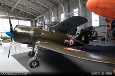 Museo Storico dell'Aeronautica Militare - Reggiane Re.2002 (3)