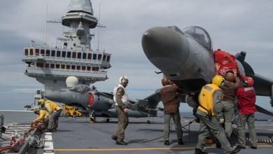 Photo of Reportage: Nave Cavour ed il Gruppo Aerei Imbarcati della Marina Militare