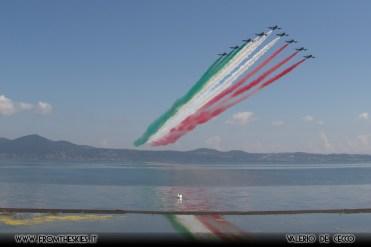 Frecce Tricolori sul Lago di Bracciano - 2018 (3)