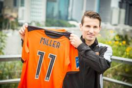 Liam Miller will be crucial to Brisbane's success on the pitch.