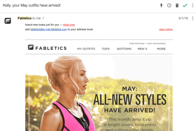 Fabletics Your May Outfits have arrived