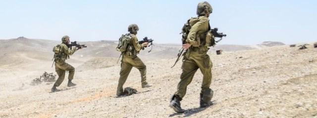 Największe manewry w Izraelu. Netanjahu grozi: ,,Nie testujcie nas!''