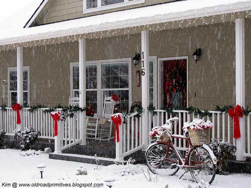 Front Porch Decorating Ideas Inspiring Christmas Decorations Is A