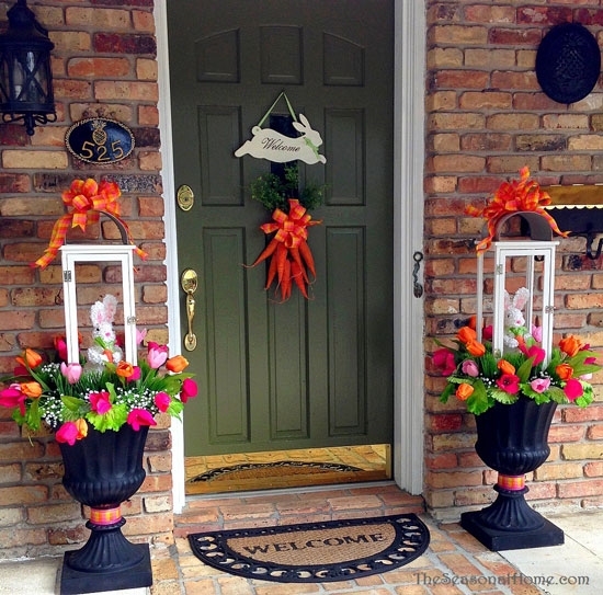 Front Porch Decorating Ideas For Spring Pinterest