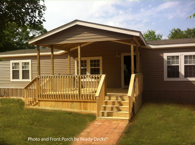 19+ Double Wide Mobile Home Porch Ideas Gif