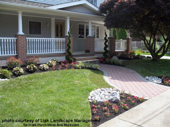 Front Yard Landscape Designs with Before and After Pictures on Outdoor Front Yard Ideas id=16061