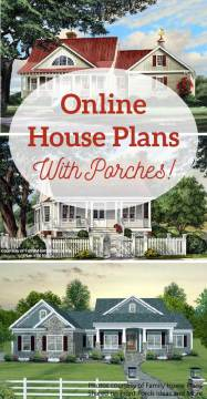 House Plans Online with Porches   House Building Plans   House     Looking for online house plans with porches  We gathered some here for you  to see