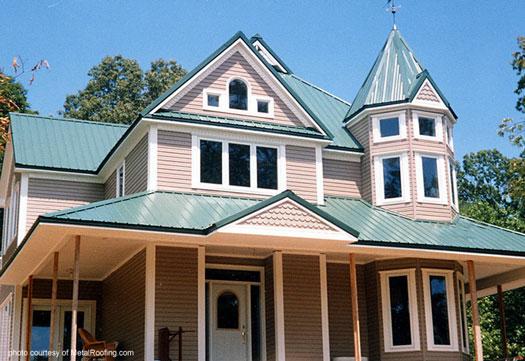 Standing Seam metal roof material