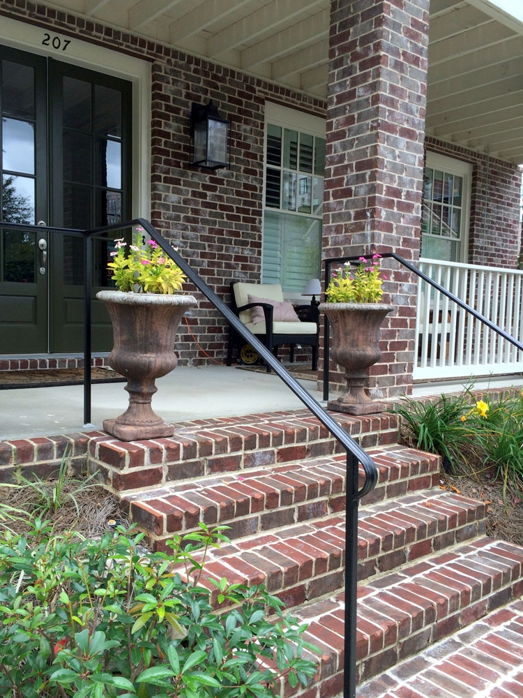 Porch Hand Rails Designs Kits And More   Metal Railing For Stairs Outside   Railing Ideas   Railing Kits   Front Porch   Spiral Staircase   Wrought Iron