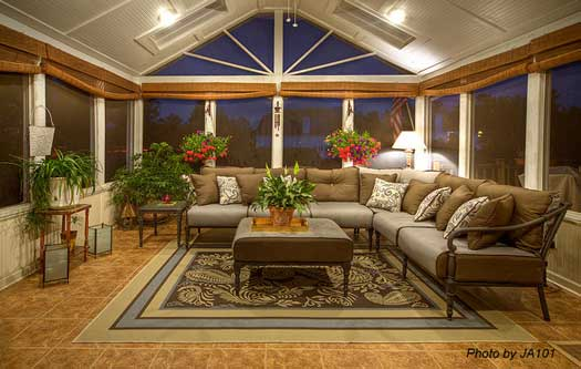 10 Screen Porch Designs Factors To Know on Closed Patio Design id=24845
