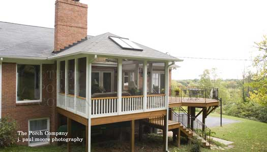 10 Screen Porch Designs Factors to Know on Enclosed Back Deck Ideas id=90882
