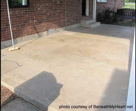 staining concrete floors concrete