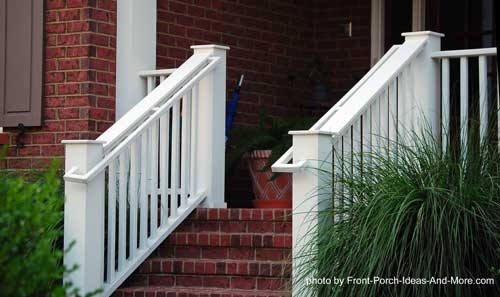 Stair Hand Rails For Porches And Decks   Handrails For Outside Steps   Deck   Steep Driveway   Metal   Free Standing   Garden