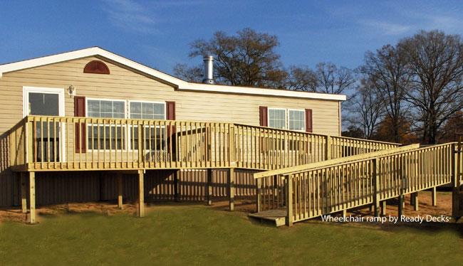 Mobile Home Decks And Stairs