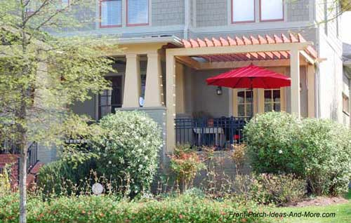 Patio Ideas to Expand Your Front Porch on Extended Covered Patio Ideas id=57061