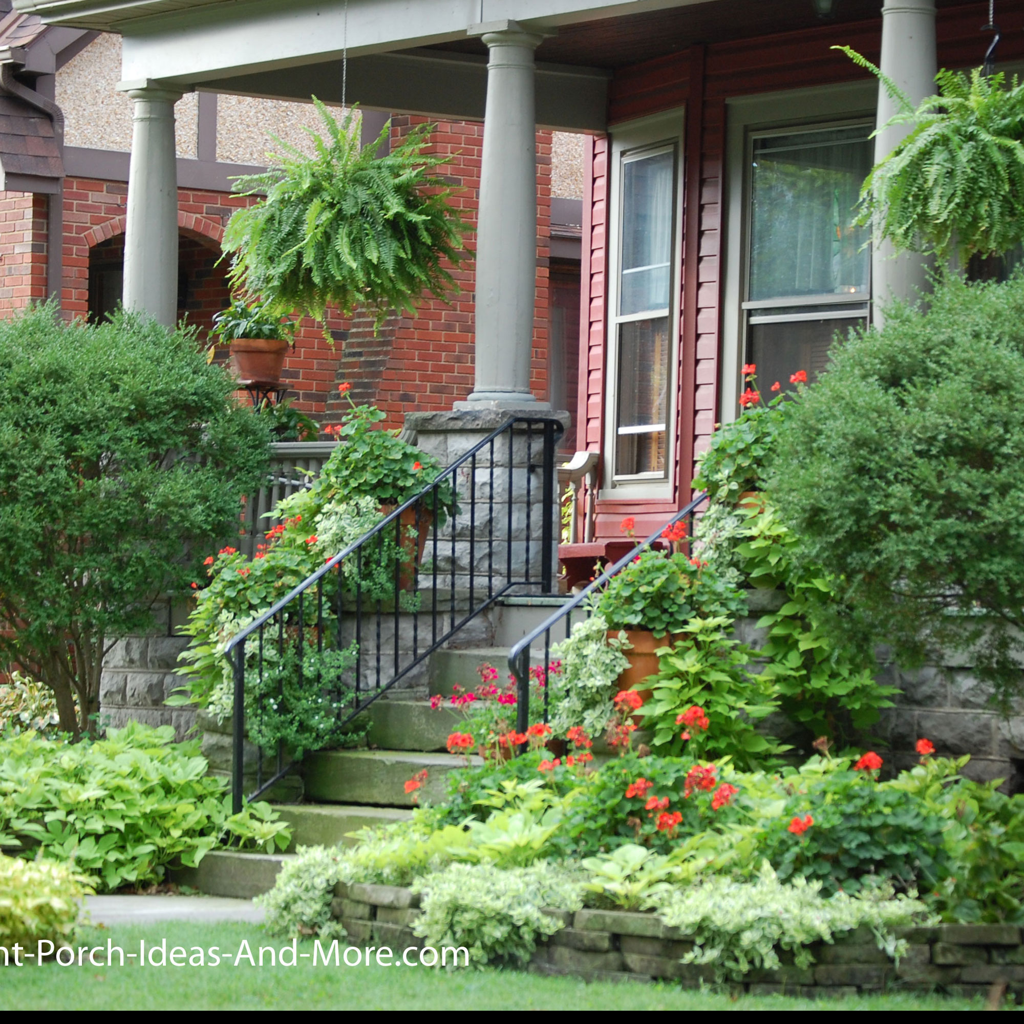 Porch Landscaping Ideas for Your Front Yard and More on Outdoor Front Yard Ideas id=68822