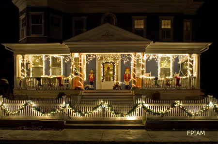 How To Choose Outdoor Animated Christmas Decorations Comely Image Of Front Porch Decoration Using