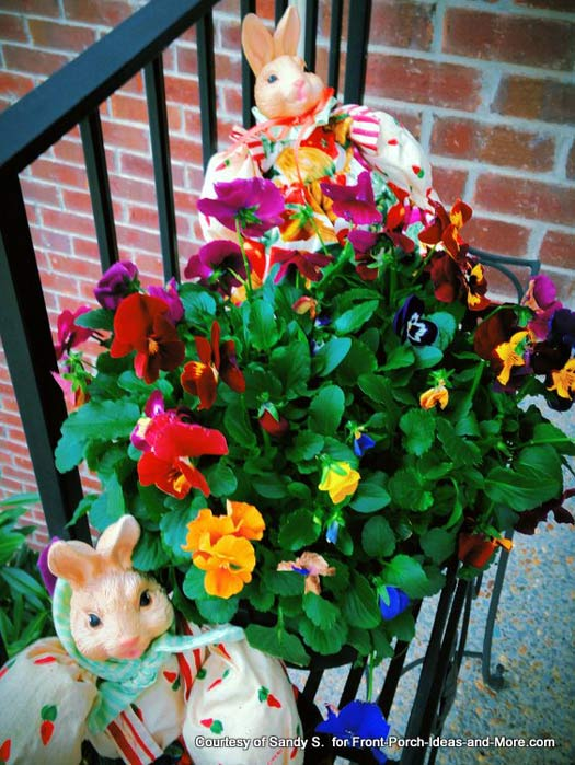 Image Of Front Porch Decorating Ideas For Spring Pinterest