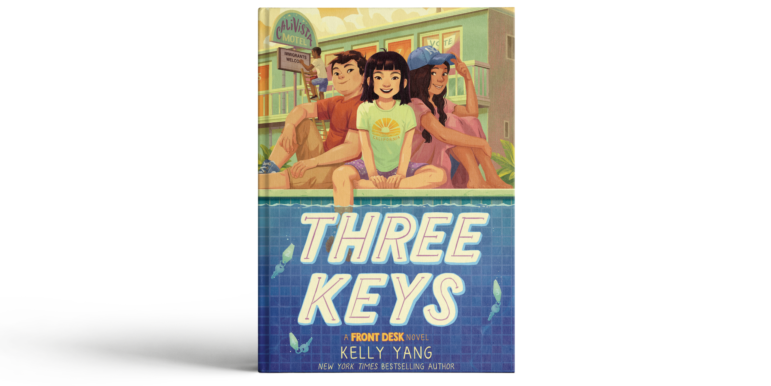 Three Keys Cover Mockup