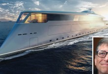 Photo of Bill Gates compra uno yacht a idrogeno, ma superlusso: costa 600 milioni!