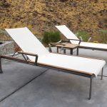 Kingsley Bate Tivoli 3 Piece Stainless Steel And Teak Chaise
