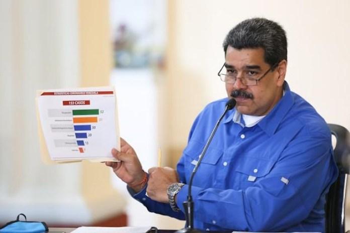 Nicolás Maduro cuarentena