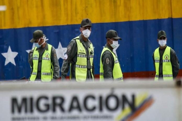 migración Colombia venezolanos