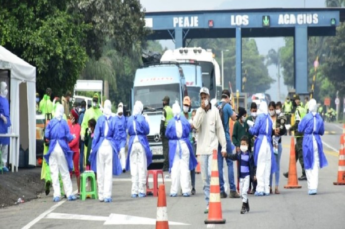 venezolanos retornados frontera