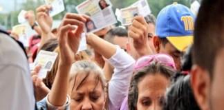 venezolanos Colombia