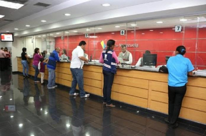 bancos número de cédula