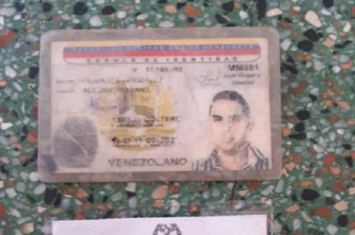 cédula espía Maduro