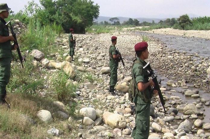 Guardia trochas frontera