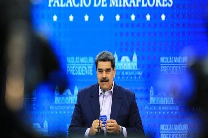 Maduro gasolina