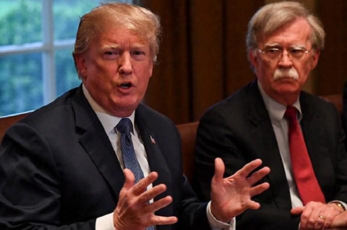 Trump y Bolton