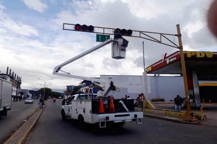Alcaldía semáforos servicios