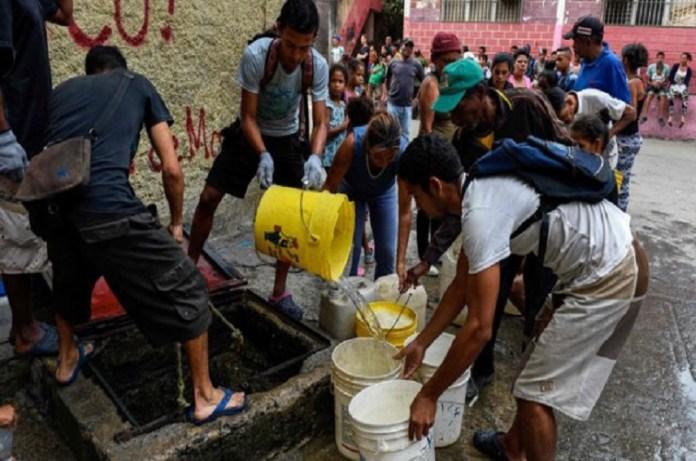 falta de agua Venezuela