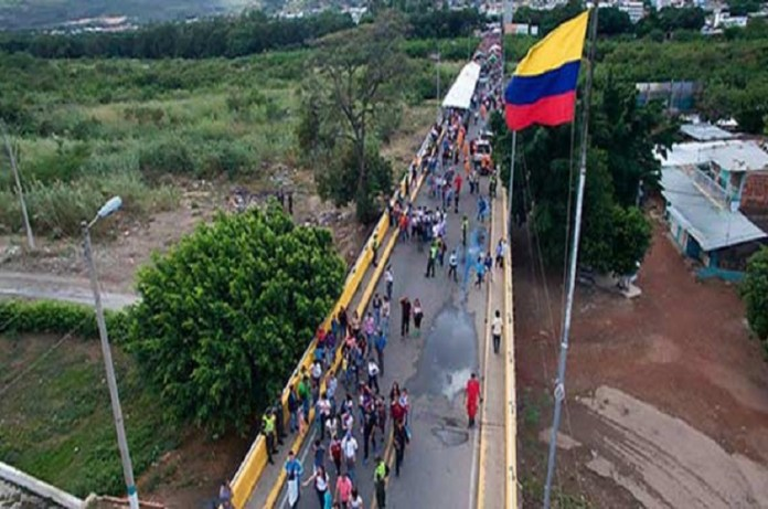 venezolanos migración Colombia