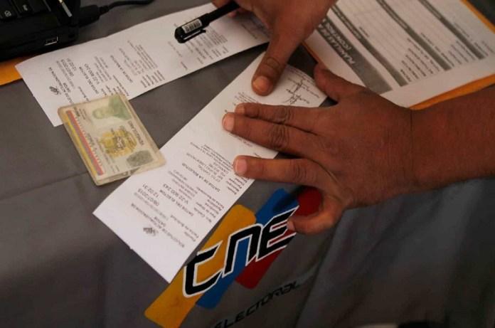 Elecciones parlamametarias Gobernadora Táchira