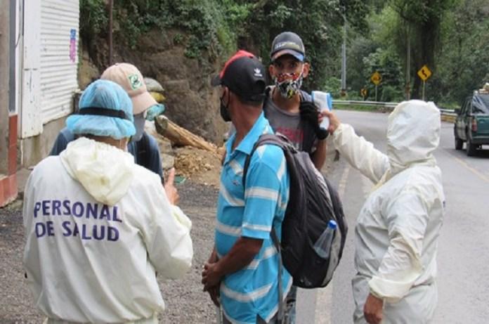 caminantes venezolanos Pamplona
