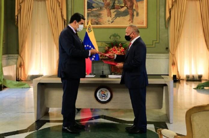 Maduro y Diosdado Ley antibloqueo
