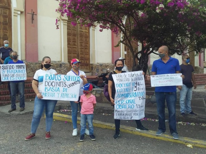 protestas Seboruco